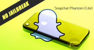 snapchat phantom tweak no jailbreak